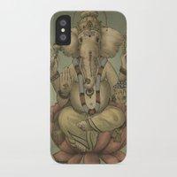 ganesha iPhone & iPod Cases featuring Ganesha by Sumi Senthi