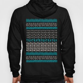 Dots, spots and zigzags pattern Hoody