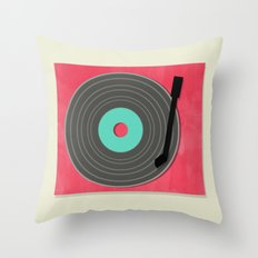 MUSIC TO MY EARS Throw Pillow