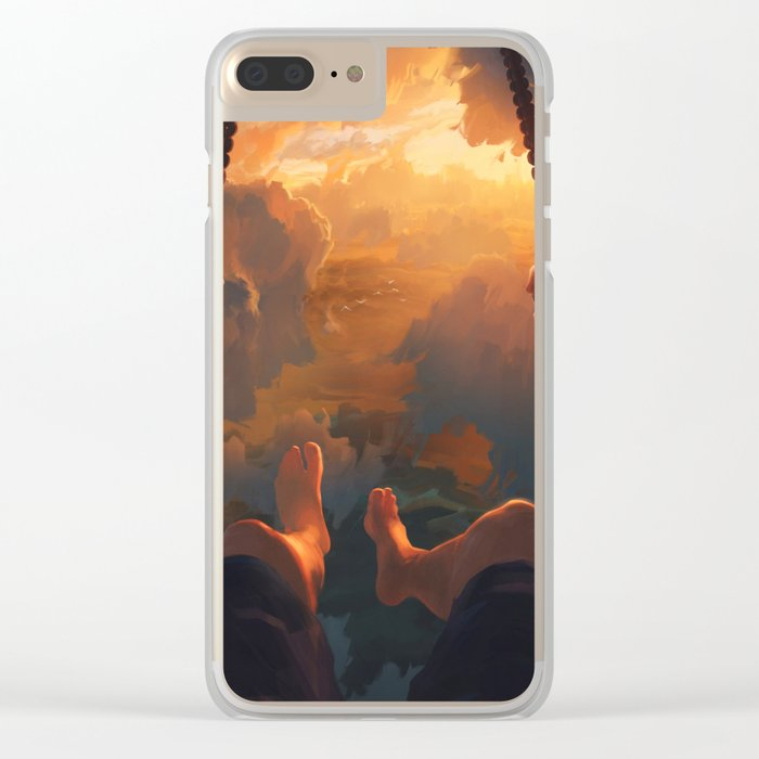 View From Above Clear iPhone Case