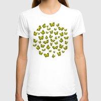 butterflies T-shirts featuring Butterflies by Condor