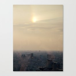 High above the Sun Canvas Print