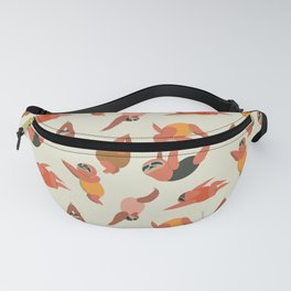 Sloth Swimmer Fanny Pack