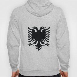 Albanian eagle flag Hoody