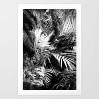wild palm tree Art Print