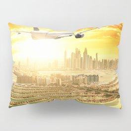 traveling in dubai Pillow Sham