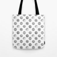 polka dot Tote Bags featuring Polka Dot by AndaLouz
