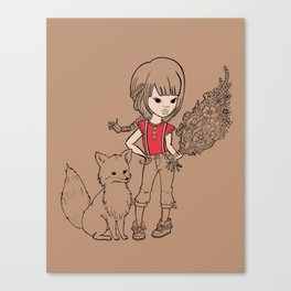 Tail Envy Canvas Print