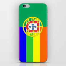 portugal country gay flag homosexual iPhone & iPod Skin