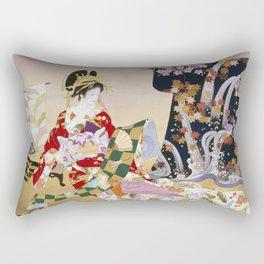 Haruyo Morita Adesugata Rectangular Pillow