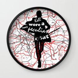Kell's Coat - A Darker Shade of Magic Wall Clock