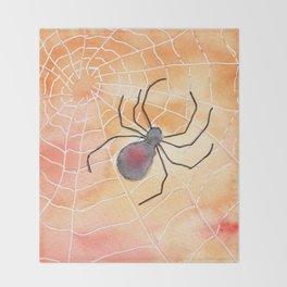 Halloween Spider 2016 Throw Blanket