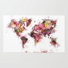 World Map 2033 Rug