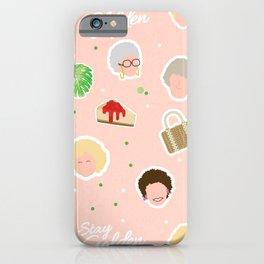 GG Pattern Cute iPhone Case