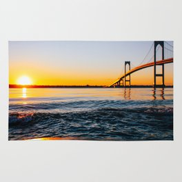 Sunrise over Newport Rug