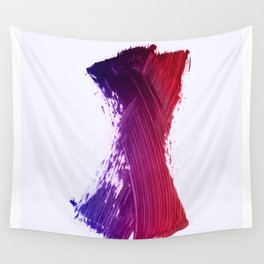 Color Smear Dance Wall Tapestry