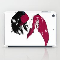 rock n roll iPad Cases featuring Rock 'n' Roll xxx by Andrew Mark Hunter