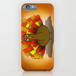 Worried Turkey Illustration iPhone Case