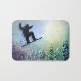 The Snowboarder: Air Bath Mat