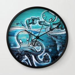 Squiggles+Skribbles: Overcoming odds Wall Clock