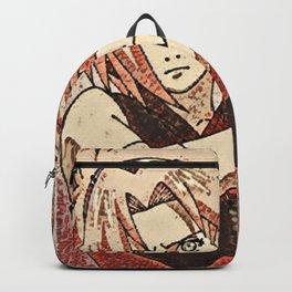 Sakura Haruno Artistic Illustration Blossom Style Backpack