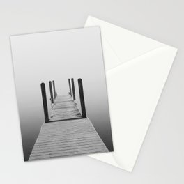 Fog on Muskegon Lake | Muskegon, MI Stationery Cards
