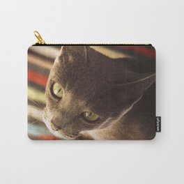 gaze of a cat Carry-All Pouch