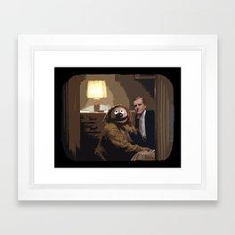 Rowlf/Shining Framed Art Print