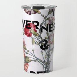Flower Wisdom Travel Mug