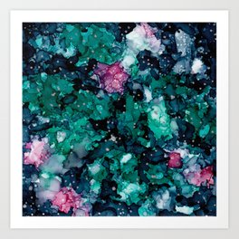 Starry canopy Art Print