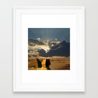 egypt Framed Art Prints featuring Egypt by Littlebell