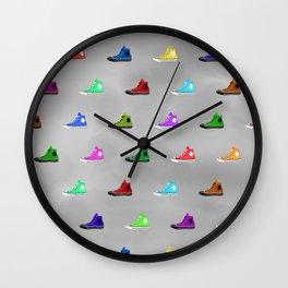 Rock shoes Wall Clock