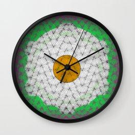 Huevo Frito Wall Clock
