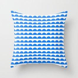 BREE ((true blue)) Throw Pillow