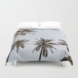 palm trees xiv / chiang mai, thailand Duvet Cover