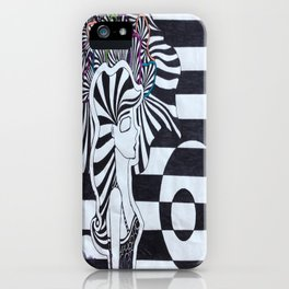 Colors of the Mind iPhone Case