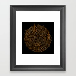 Fossil Framed Art Print