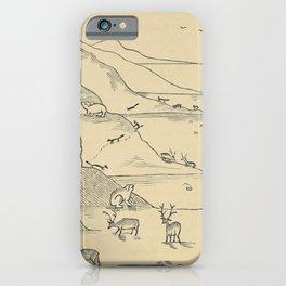 Arctic Animals iPhone Case
