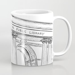 New York Public Library  Coffee Mug