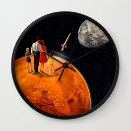 New Martian Generation Wall Clock
