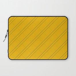 Selective Yellow Crisscross Laptop Sleeve
