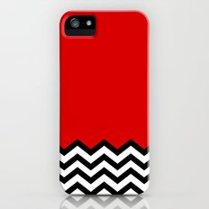 Black Lodge Dreams (Twin Peaks) iPhone (5, 5s) Slim Case