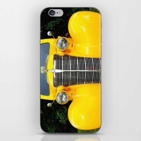 Yellow Chevy iPhone & iPod Skin