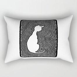 Cat eco. Rectangular Pillow