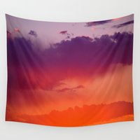 arizona Wall Tapestries featuring Arizona by Laura Santeler