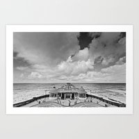 Cromer Pier into the Distance Art Print