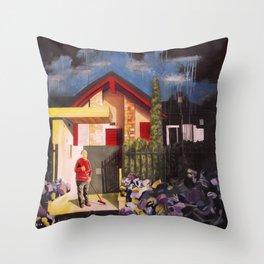 Interno 17 / Apartment 17 Throw Pillow