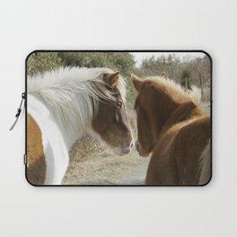Horse Conversations Laptop Sleeve