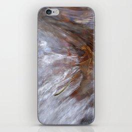 Burning leaf iPhone Skin