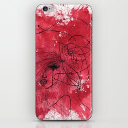 The Mean Reds iPhone Skin